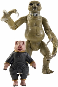 Doctor Who Underground Toys Series 1 Action Figure Slitheen & The Space Pig
