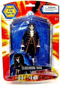 Doctor Who Underground Toys Series 2 Action Figure Clockwork Man [Black]