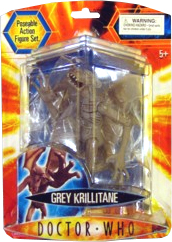 Doctor Who Underground Toys Series 2 Action Figure Krillitane [Gray]