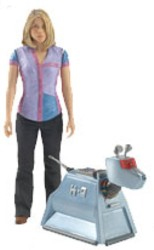 Doctor Who Underground Toys Series 2 Action Figure Rose & K9