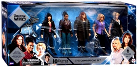 Doctor Who Ungerground Toys Action Figure5-Pack Companions New!