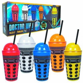 Dr Who 16oz Tumbler 5-Pack Dalek
