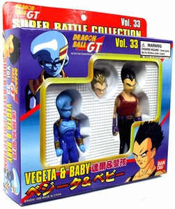 Dragon Ball GT Bandai Japanese Super Battle Collection Action Figure 2-Pack Vol. 33 Vegeta & Baby