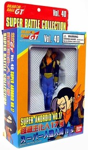 Dragonball GT Bandai Japanese Super Battle Collection Action Figure Vol. 40 Super Android No. 17