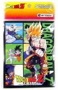 Dragon Ball Z Artbox Sticker Set