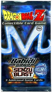 Dragon Ball Z Babidi Saga Senzu Blast Booster Pack