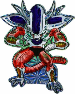 Dragon Ball Z Deluxe Prismatic Sticker Frieza [Form 3]