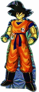 Dragon Ball Z Deluxe Prismatic Sticker Goku [Standing]