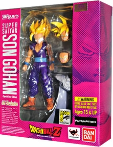 Dragonball Z Kai S.H. Figuarts 2012 SDCC San Diego Comic Con Exclusive Action Figure Super Saiyan Son Gohan