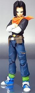 Dragon Ball Z Kai S.H. Figuarts Action Figure Android 17 Pre-Order ships October