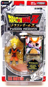 Dragon Ball Z Original Fusion Reborn Action Figure with Trading Card SS Goten