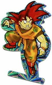 Dragon Ball Z Prismatic Sticker Goku [Turn]