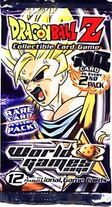 Dragon Ball Z World Games Saga Booster Pack [12 Cards]