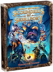 Dungeons & Dragons D&D Board Game Lords of Waterdeep: Scoundrels of Skullport Board Game Expansion