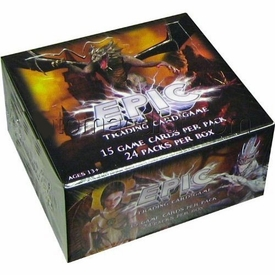 EPIC Trading Card Game Series 1 Booster BOX [24 Packs] BLOWOUT SALE!