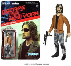 Escape From New York Funko 3.75 Inch ReAction Figure Snake Plissken [Jacket] Pre-Order ships August