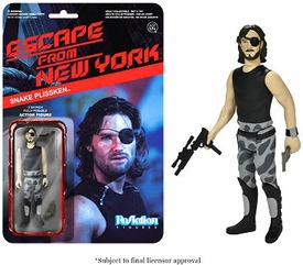 Escape From New York Funko 3.75 Inch ReAction Figure Snake Plissken [No Jacket] Pre-Order ships August