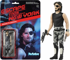 Escape From New York Funko 3.75 Inch ReAction Figure Snake Plissken [No Jacket]