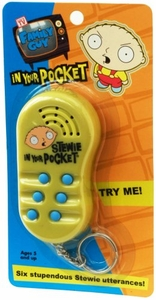 Family Guy Stewie in Your Pocket Electronic Toy