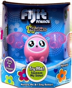 Fijit Friends Newbies Interactive Toy Kenzie [Light Pink]