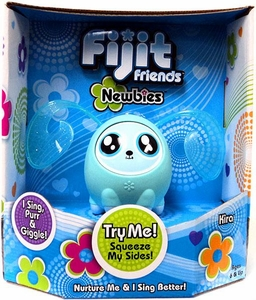 Fijit Friends Newbies Interactive Toy Kira [Aqua Blue]