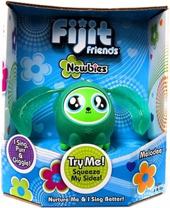 Fijit Friends Newbies Interactive Toy Melodee [Green]