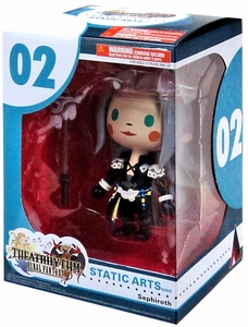 Final Fantasy Static Arts Mini Figure Sephiroth New!