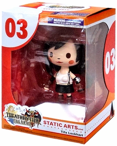 Final Fantasy Static Arts Mini Figure Tifa New!