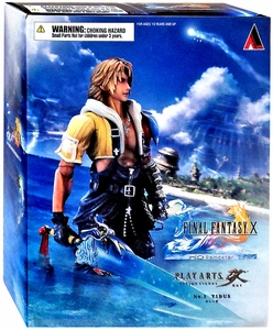 Final Fantasy X Play Arts Kai Action Figure Tidus New!