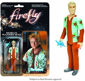 Firefly Funko 3.75 Inch ReAction Figure Hoban Washburne New!