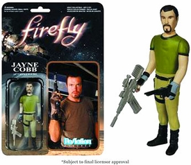 Firefly Funko 3.75 Inch ReAction Figure Jayne Cobb Pre-Order ships August