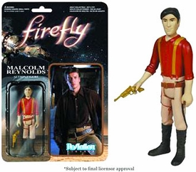 Firefly Funko 3.75 Inch ReAction Figure Malcolm Reynolds New!