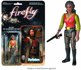Firefly Funko 3.75 Inch ReAction Figure Zoe Washburne Pre-Order ships August