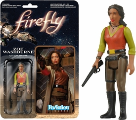 Firefly Funko 3.75 Inch ReAction Figure Zoe Washburne New!