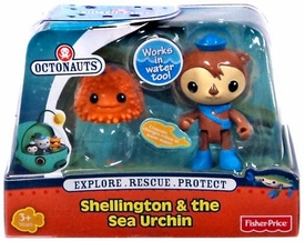 Fisher Price Octonauts Figure & Creature Shellington & The Sea Urchin