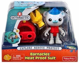 Fisher Price Octonauts Figure Playset Barnacle's Heat Proof Suit
