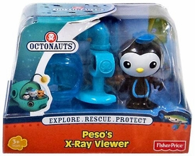 Fisher Price Octonauts Figure Playset Peso's X-Ray Viewer