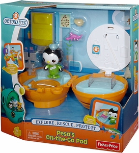 Fisher Price Octonauts Mission Vehicle Peso's On-the-Go Pod