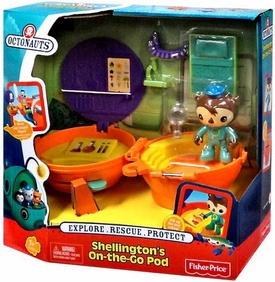 Fisher Price Octonauts Mission Vehicle Shellington's On-the-Go Pod