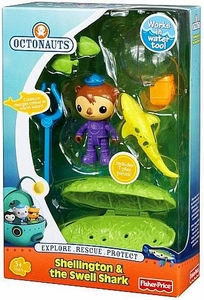 Fisher Price Octonauts Rescue 2-Pack Shellington & The Swell Shark
