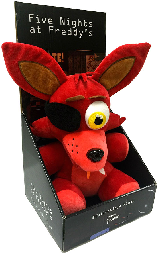 Foxy pe rsonalized five nights at freddy s fnaf plush fnaf bonnie fnaf