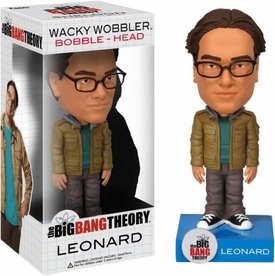 Funko Big Bang Theory Wacky Wobbler Bobble Head Leonard
