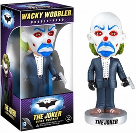 Funko DC Dark Knight Movie Wacky Wobbler Bobble Head Bank Robber Joker