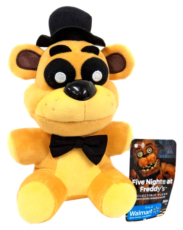 Five nights at freddy s golden freddy plush on sale at toywiz com