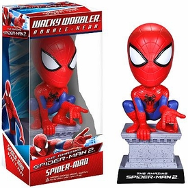 Funko Marvel Amazing Spider-Man 2 Wacky Wobbler Bobble Head Spider-Man
