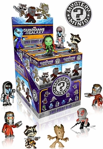 Funko Marvel Guardians of The Galaxy Mini Figure Mystery Box [12 Packs] {1 Full Set!}