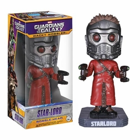 Funko Marvel Guardians of The Galaxy Wacky Wobbler Bobble Head Star Lord New!