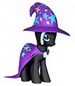 Funko My Little Pony MYSTERY MINI Series 2 Figure The Great and Powerful Trixie Lulamoon [Black Paint]