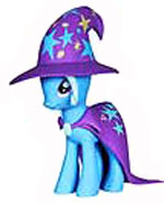 Funko My Little Pony MYSTERY MINI Series 2 Figure The Great and Powerful Trixie Lulamoon [Show Colors]