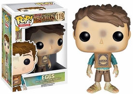 Funko POP! Animation: Boxtrolls Vinyl Figure Eggs New!
